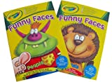 Funny Faces Colouring and Sticker Book