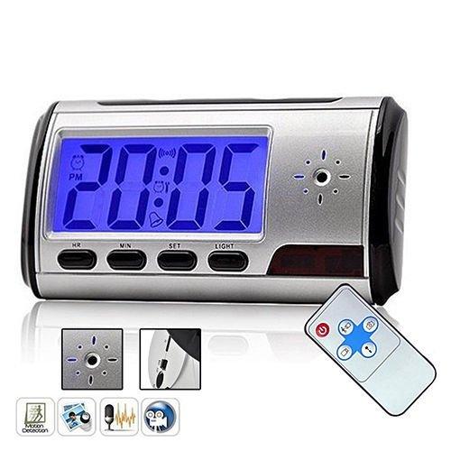 Mini Digital USB Alarm Clock Video DVR Hidden/SPY/Nanny Camera DV Pretty, Fit for home/hotel/restaurant/small shop, etc. (Small Fans For Dvr compare prices)