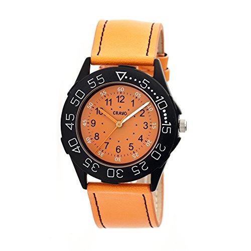 crayo-cr2504-fun-watch-orange-40mm-quartz