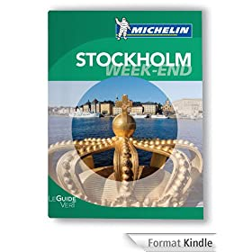 Stockholm Guide Vert Week-End Michelin  2012-2013