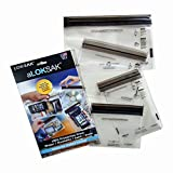 """LokSak Waterproof Pouch 3 Pack, 4.4"""" x 7.25"""" (outer dimensions)"""