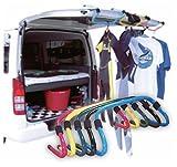 CARRY RAKKUN キャリーらっくん ロングボードキャリーハンドル(カラー5色)/ワックスアップスタンド ロングボード持ち運び サーフボードスタンド サーフィン ブラック