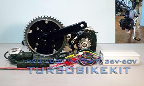 Fastest Electric E Bike Kit 3000 Watt 72 Volt with High Torque Top ...