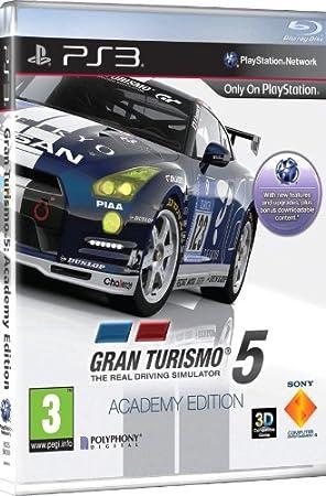 Gran Turismo 5 - édition academy (compatible 3D)