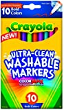 Crayola  Ultraclean Fineline Bold Markers (10 Count)