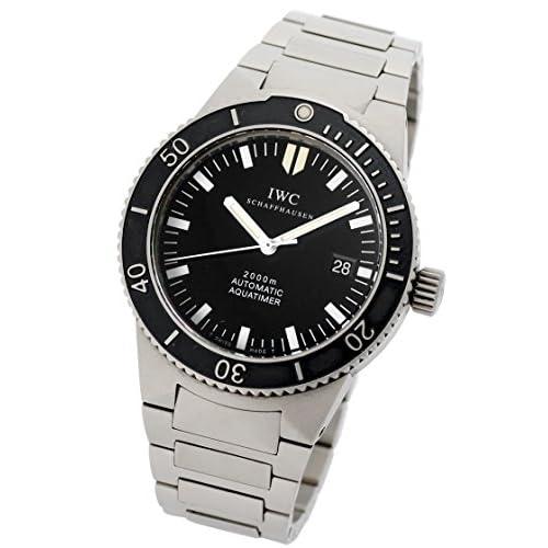 [アイダブリューシー] IWC 腕時計 GSTアクアタイマー オートマティック ブラック TI IW353601 メンズ [中古品]