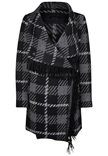 Replay giacca Grey/Black/White L