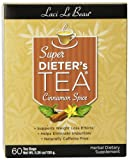 Natrol Laci Le Beau Super Dieters Tea Cinnamon Spice Box, 60 Count
