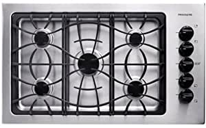 36 In. Gas Cooktop - Stainless Steel