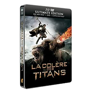 La Colère des Titans [Ultimate Edition boîtier SteelBook - Combo Blu-ray