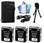 (3 Pack) PhotoMate LP-E8 LPE8 Ultra H...