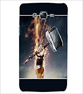 PrintDhaba Hammer D-1353 Back Case Cover for SAMSUNG GALAXY ON 5 (Multi-Coloured)