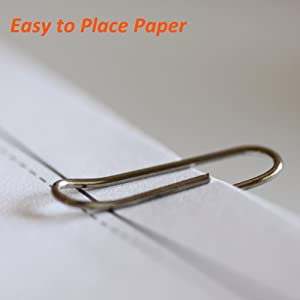 700 Paper Clips,Medium and Jumbo Size,Paperclips for Office School and Personal Use(28 mm,33mm,50 mm) (Silver) (Color: Sl109)