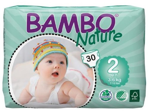 Bambo Nature Diapers-Size 2-120 Count - 1