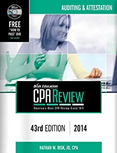 Bisk CPA Review: Auditing & Attestation, 43rd Edition, 2014(CPA Comprehensive Exam Review- Auditing And Attestation) (Bisk Comprehensive CPA Review)