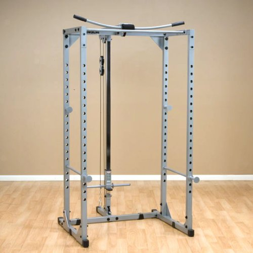 Powerline Ppr200X Power Rack With Lat Attachment front-28593