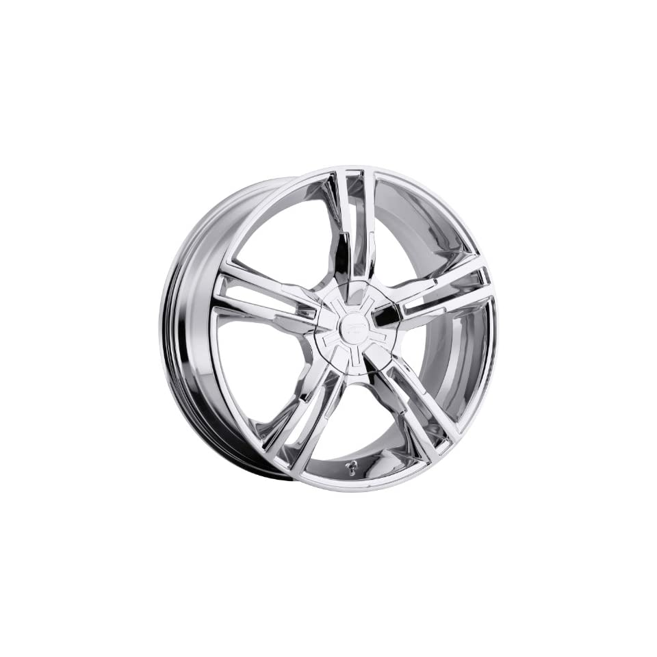 Platinum Saber 18 Chrome Wheel / Rim 5x120 & 5x4.5 with a 42mm Offset and a 74 Hub Bore. Partnumber 292 8807C