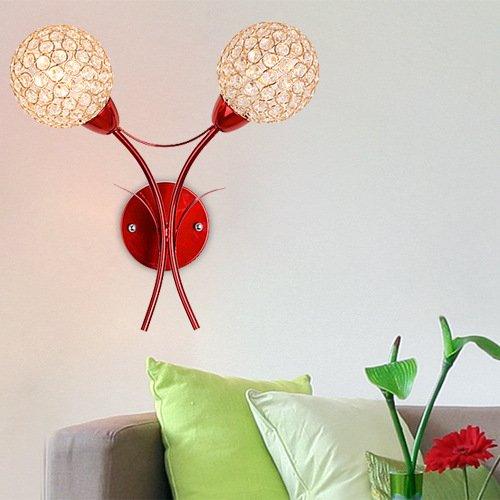 Creative Crystal Applique moderne mur de salon