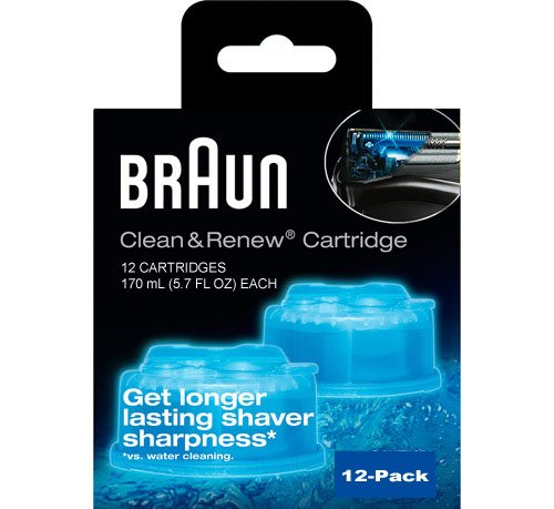 Braun Syncro Shaver System Clean & Renew Refills (12 size) (Braun Razor Clean And Renew compare prices)