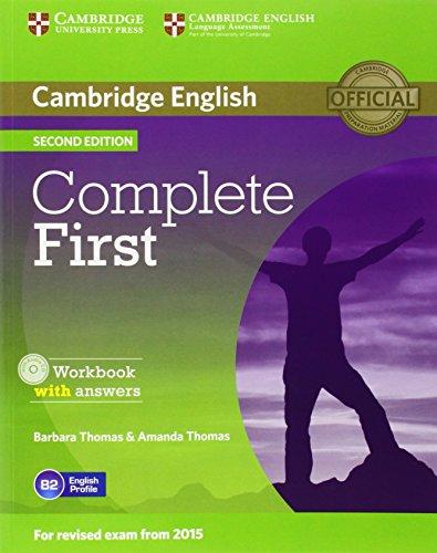 Complete first Workbook With answers Con espansione online Con CD Audio Per le Scuole superiori PDF