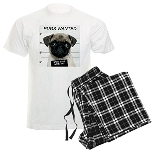 cafepress-pugs-wanted-mens-light-pajamas-unisex-novelty-cotton-pajama-set-comfortable-pj-sleepwear