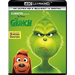 Dr. Seuss' The Grinch [4K Ultra HD + Blu-ray]