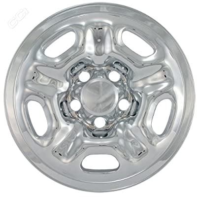 Coast To Coast IWCIMP66X 15 Inch Chrome Wheelskins With Regular Cab - Pack Of 4