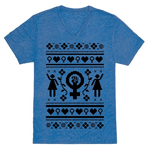 Girl Power Ugly Sweater Tee