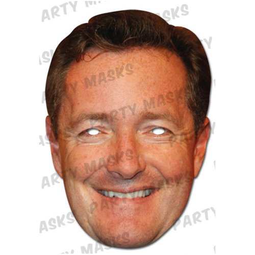 Piers Morgan Celebrity Mask - 1