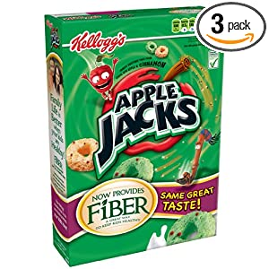 Apple Jacks Cereal, 12.2-Ounce Boxes (Pack of 3) $5.80