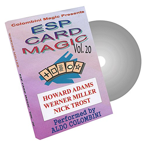 MMS ESP Card Magic Volume 20 by Wild-Colombini Magic - DVD - 1