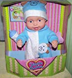 Water Babies Doll in Blue Teddy Bear Alphabet Sleeper