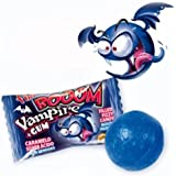 Sour Vampire Bubblegums with Sour Liquid Centre (Mouth Painter) x10 Halloween Sweets