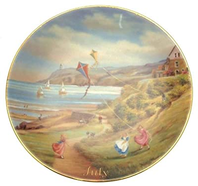 Davenport For All Time July plate Marji Daisley - 6 inch diameter - CP1491