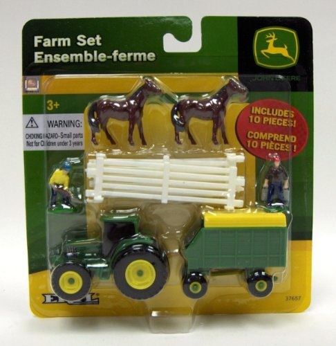 John Deere 10-piece Farm Sets - Assortment of 4 Different Sets [Toy]