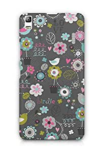 Cover Affair Cute Printed Back Cover Case for Lenovo K3 Note