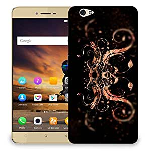 Snoogg Abstract Colorfull Pattern Designer Protective Back Case Cover For GIONEE S6