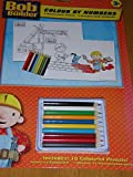 Bob the Builder colour by numbers