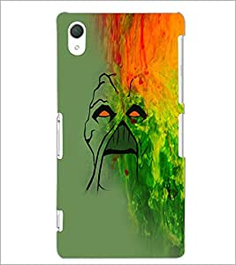 PrintDhaba Painting D-5029 Back Case Cover for SONY XPERIA Z2 (Multi-Coloured)
