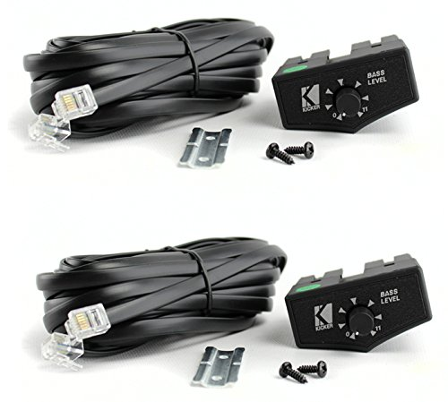2) NEW KICKER ZXRC Bass Remote Control Knob For ZX Amplifiers Amps 10ZXRC (Kicker Bass Remote compare prices)