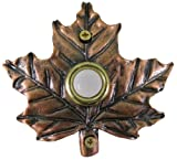 Company's Coming DBZ-007 Maple Leaf Bronze Doorbell Cover