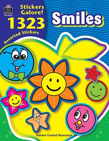 Smiles Sticker Book 1323Pk -- Case of 3