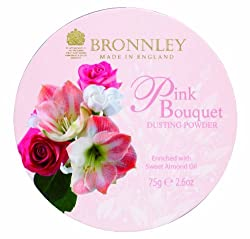 Bronnley Pink Bouquet 75g/2.6oz Dusting Powder