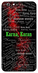 Karna, Karan (Eldest Brother Of Pandavas, Ear) Name & Sign Printed All over customize & Personalized!! Protective back cover for your Smart Phone : Samsung Galaxy S5 / G900I