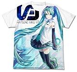 初音ミクV3 初音ミクV3 フルグラフィック Tシャツ ホワイト サイズ:L