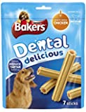 Bakers Dental Delicious Chicken for Medium Dogs 200 g (Pack of 6)