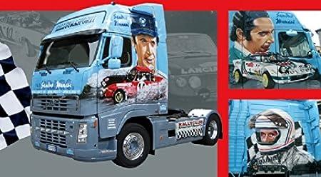 Italeri - I3849 - Maquette - Voiture et Camion - Volvo FH Munari - Echelle 1:24