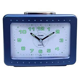CASIO 10503 TQ-329-2DF - Reloj Despertador analógico azul marca CASIO