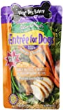 Three Dog Bakery Entree For Dogs, Chicken Carrots Green Beans & Rice Recipe, 12 ounces, 7/pack
