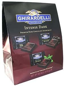 Ghirardelli Intense Dark Premium Dark Chocolate Assortment 50 Pack